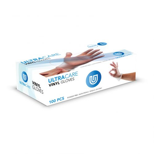Ultracare Clear Gloves